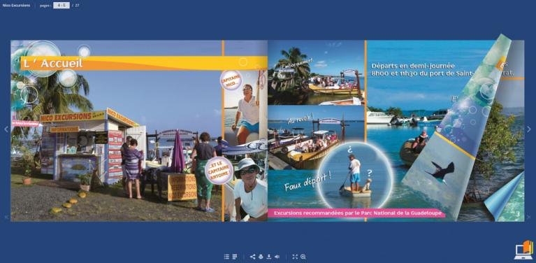 brochure virtuel de notre excursion